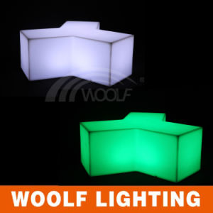 Illuminated Lighting Plastic Outdoor LED Chair pictures & photos