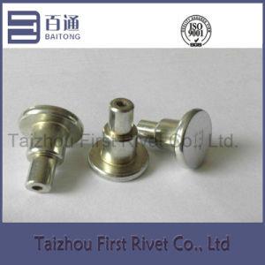 11.9X25mm White Zinc Plated Tubular Steel Shoulder Rivet pictures & photos