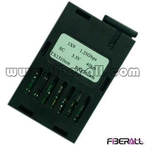 Wdm 1*9 Optical Fiber Module 1.25gbps Bidi 40km Sc 3.3V pictures & photos