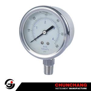 Liquid Filled Pressure Gauge/Manometer pictures & photos