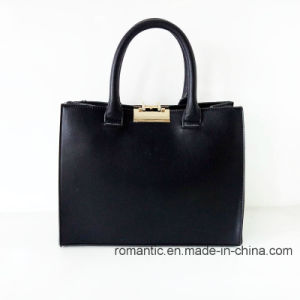 Guangzhou Supplier Fashion Lady Fur Leather Handbags (NMDK-052201) pictures & photos