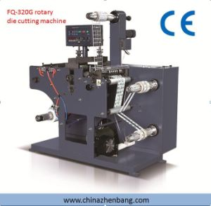 Slitting and Rotary Die Cutting Machine with Two Rewinding Shafts pictures & photos