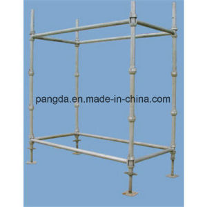 Construction Material Cuplock Scaffolding System pictures & photos