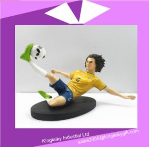 Resin Craft Bobble Head Figurines for Souvenir P017-062 pictures & photos