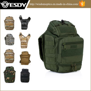 2017 Esdy Super Saddle Bag Tactical Camera Camouflage Camping Bag pictures & photos