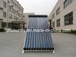 High Efficiency Antifreeze Heat Pipe Vacuum Solar Collector for Solar Water Heater pictures & photos