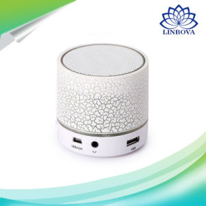 Colorful Wireless Bluetooth Portable Mini Speaker with LED Light pictures & photos