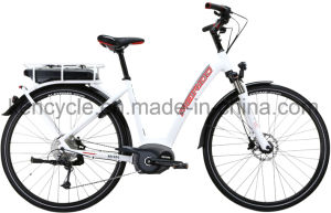 700c Lithium Battery City Style E-Bike/Electric Bicycle / MID Drive Electric Bike with Bafang Max Central Motor/Cargo Bike Electric with Trendy Dutch Design pictures & photos