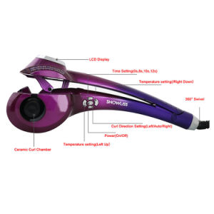 Hottest Selling Auto LCD Hair Curler for Ladies pictures & photos