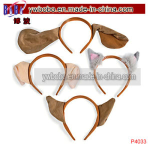 Baby Accessories Fancy Kids Hairband Plush Puppy Hair Ornament (P4033) pictures & photos