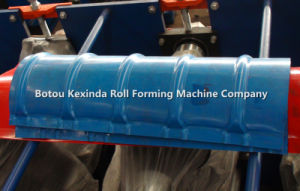Ridge Cap Cold Steel Roll Forming Machine Manufacturer pictures & photos