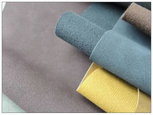 Frosted Yangbuck Faux Artificial Leather for Shoes, Bags, Furniture, Decoration (HS-Y79) pictures & photos