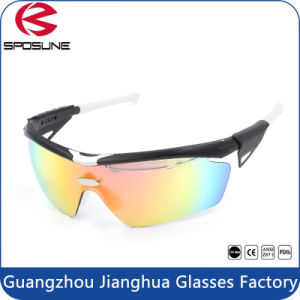 Polarized Lens High Quality Custom Logo Sports Sunglasses pictures & photos