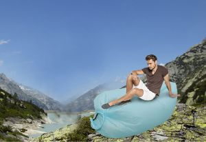 Hot Sales New Outdoor Inflatable Lazy Sofa Chair Sleeping Bag Air Bed Air Lounger pictures & photos