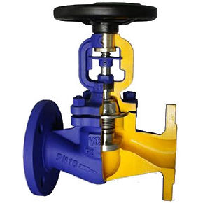 DIN Bellows Seal Globe Valves pictures & photos