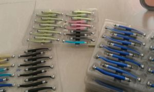 Color Dental Standard Push Button Anti-Retraction High Speed Handpiece pictures & photos