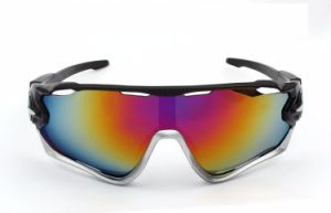 Hot Sale 3 Lens Mens Bike Sunglasses Bicycle Goggles pictures & photos
