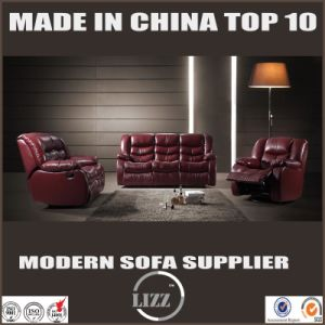 1+2+3 Recliner Leather Sofa with Power Connection pictures & photos