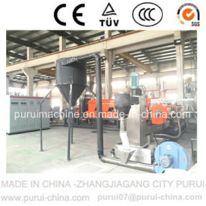 Plastic Bottle Flakes Recycling Granulating Machine (500kg/Hr) pictures & photos