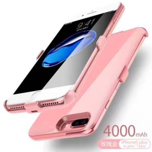 Wireless Anti-Drop Mobile Power Battery Bank 4000 mAh for iPhone6 Plus/6s Plus/7plus pictures & photos