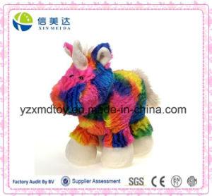 Rainbow Tie Dye Unicorn Plush Stuffed Animal Toy pictures & photos