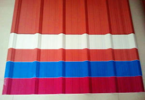 Color and Transparent Used Roof Plastic Corrugated Sheet Price