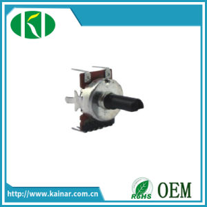 High Quality B504 17mm Rotary Potentiometer with Bracket Wh0172-2b-1 pictures & photos