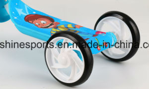 Factory Cheap Kids Scooter 2 in 1 Pedal Kick Scooter with 3 Wheel for Children pictures & photos