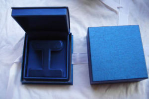 Elelgant Plastic Box with PU Jewelry Box pictures & photos