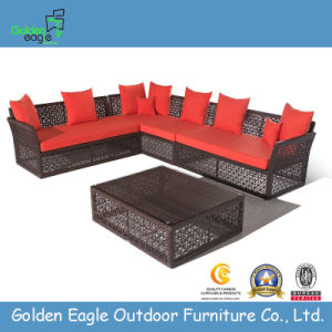 PE Rattan Garden Furniture Leisure Outdoor Wicker Furniture (S0080) pictures & photos