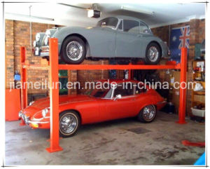 Four Post Mechanical Hydraulic Parking pictures & photos