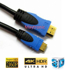 3D, 4k, 2160p with Ethernet Mini HDMI Cable pictures & photos