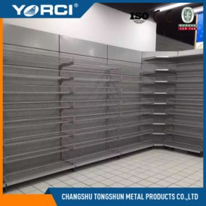 Cold Steel Supermarket Shelf Display Shelving Unit for Shops pictures & photos