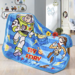 Micro Soft Flannel Fleece Children Blanket for Sleep or Cover 50X60′′ pictures & photos