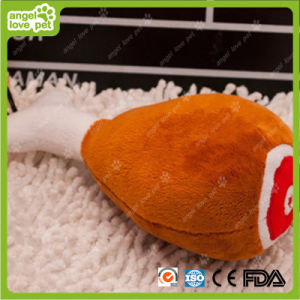 Squeaky Plush Pet Toys Pet Drumstick Product pictures & photos