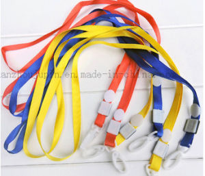 Custom Nylon Work Permit Neck Lanyard for Exhibition Company pictures & photos