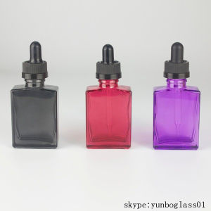 15ml 30ml Square Vaping Glass Bottle with Droppers pictures & photos