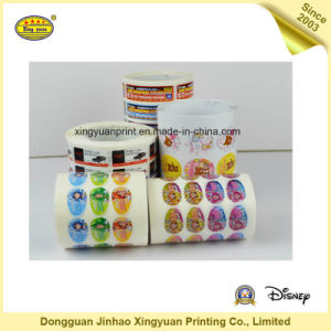 Waterproof Self Adhesive Sticker with Printing (JHXY-AS0001)