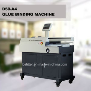 D50-A4 Automatic hot melt adhesive granvle binding machines pictures & photos