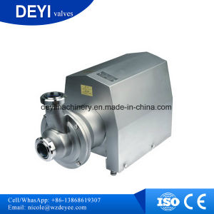 Stainless Steel SS304 Food Grade Self Priming Pump pictures & photos