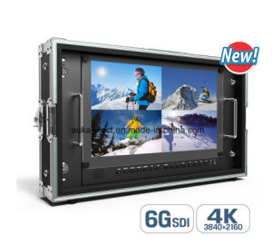 "15.6"" 4k Broadcast Director Monitor with 6g-Sdi, HDMI, VGA&DVI Inputs pictures & photos"