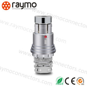 Raymo 104 Series Waterproof Cable Connector 2pin 3pin 4pin 6pin 8pin 16pin 19pin Push Pull Connector pictures & photos