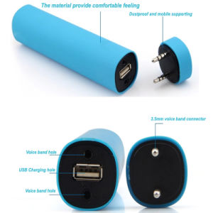 Mini Portable 2800mAh Power Bank with Bluetooth Speaker pictures & photos
