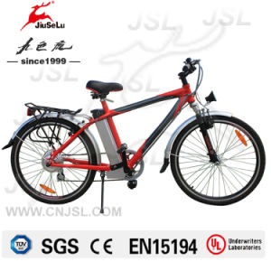 "250W Brushless DC Motor 26"" CE Mountain E-Bikes (JSL-037B) pictures & photos"