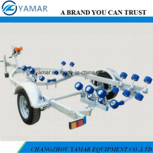 5.4m Galvanized Boat Trailer with Rollers pictures & photos