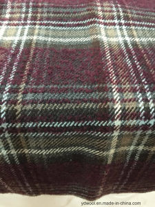 Stock Wool Fabric Check Korea Style pictures & photos