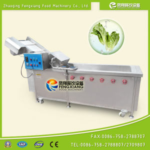 Fruit and Vegetable Air Bubble Surfing Industrial Electric Washing Machine pictures & photos