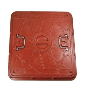 Ce En124 Passed SMC Manhole Cover for Saudi Arabia