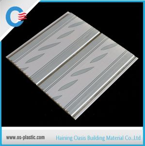 200mm Ghana Middle Groove PVC Panel Normal Printing PVC Ceiling Wall Panel pictures & photos