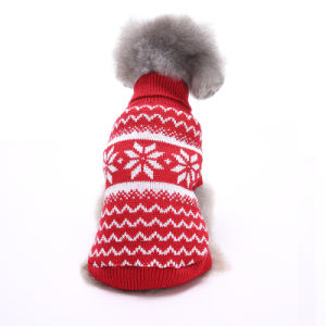 Pet Products Multi-Color Hand Crochet Dog Sweater pictures & photos